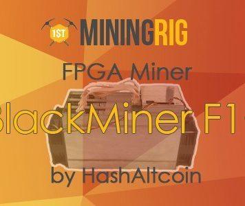 BlackMiner F1+ Review - FPGA Miner