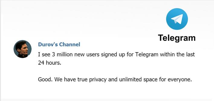 telegram, pavel durov