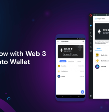 Opera's newest update brings Ethereum crypto wallet and Web 3 support