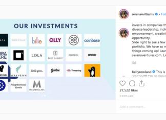 Serena Williams Works Crypto Savvy into Venture Fund, Backs Coinbase