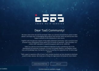 Token-as-a-Service (TaaS) Shuts Down - Distributes Assets to Token Owners