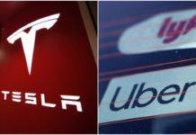 tesla network uber lyft