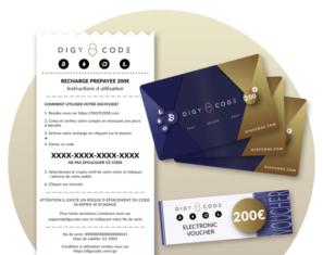 DigyCode Crypto vouchers