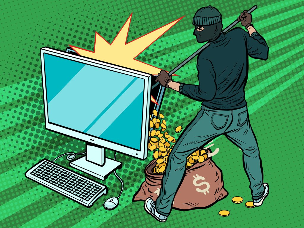 bitcoin cryptocurrency hack theft scam
