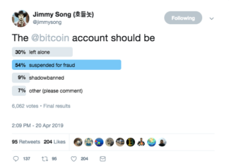 Jimmy Song Twitter Poll