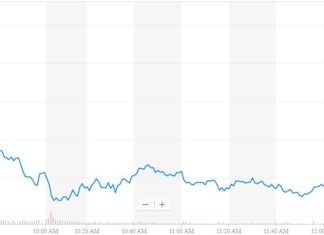 apple stock plunges