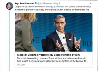 democrat brad sherman ban bitcoin crypto