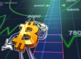 Bitcoin Breaks $8,000 for First Time Since July 2018, Stocks and Oil Report Losses