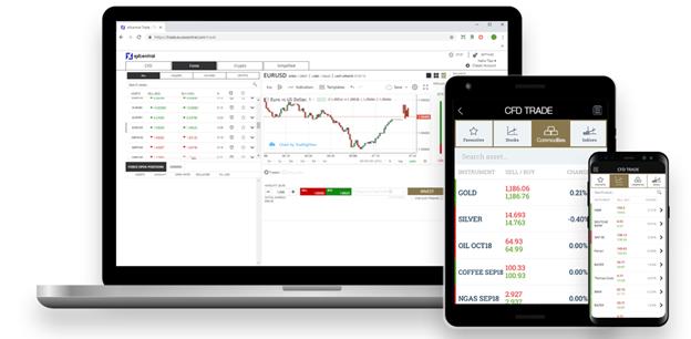 eXcentral WebTrader