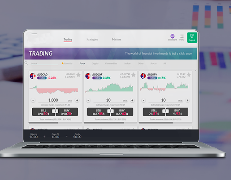 Digital Currency Market's trading software